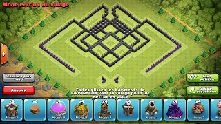 Clash of Clans - Hdv 9 Rush/Gdc+Propulseur d'air