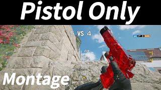 【R6S】Pistol only MONTAGE【シージ】