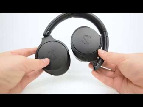 7fccf042107 Audio Technica ANC900BT Over-Ear Wireless Noise Cancelling Headphones @ JB  Hi-Fi