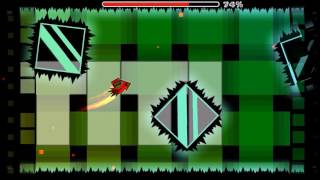 Drowning by HexagonDashers (Easy Demon) 100% + All Coins