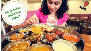 Unlimited Mahabhog Thali | Indian Food Vlog | Pune