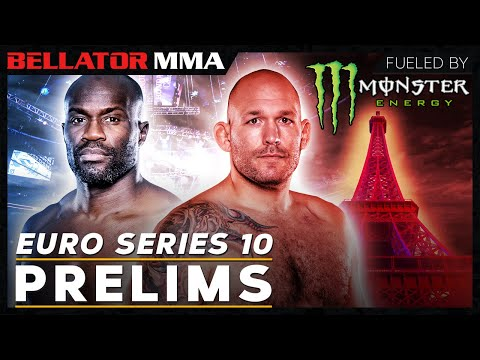 Monster Energy Prelims | Bellator Euro Series 10: Kongo vs. Johnson II