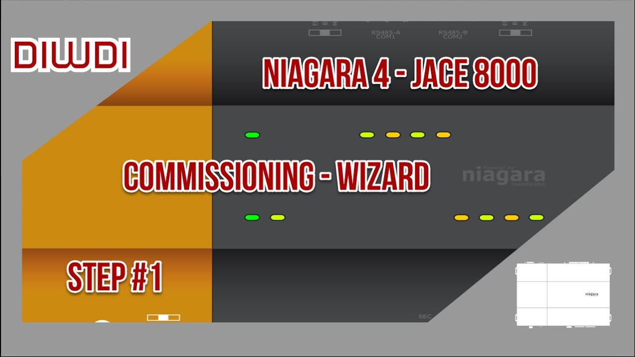 Tridium Niagara 4 - JACE 8000 Commissioning