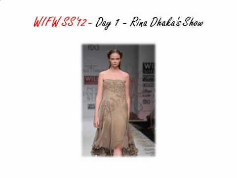 Wills Lifestyle India Fashion week - Spring Summer '12 - Day 1 - Rina Dhaka's Show