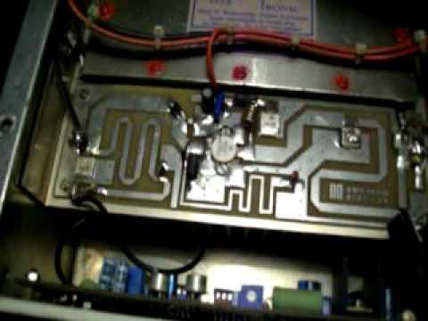 TEST AMPLIF. BROADCAST FM 88-108 MHz   Db KN 500