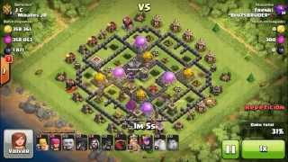 JC returns-la paliza del dia-Clash of clans