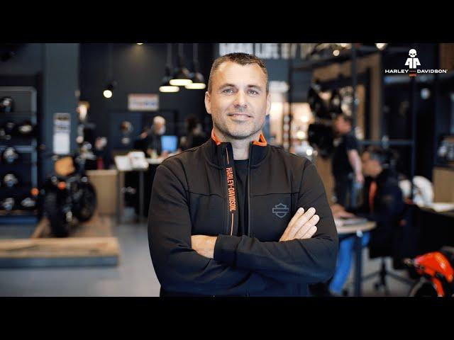Portrait // Jérôme BOULLERY - Directeur / Harley-Davidson Nantes