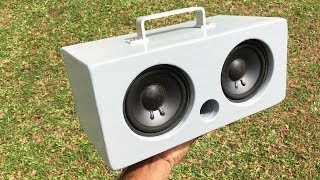 DIY Bluetooth Speaker 25W+25W using TDA7492P Amplifier - How to make