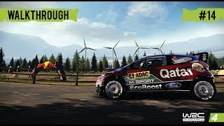 WRC 4 Career Mode - WRC 2 - Part 14 Rally Italy (Day2)