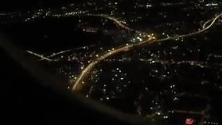 Аэропорт Стамбула/Взлет Самолета/Ночной Стамбул Сверху