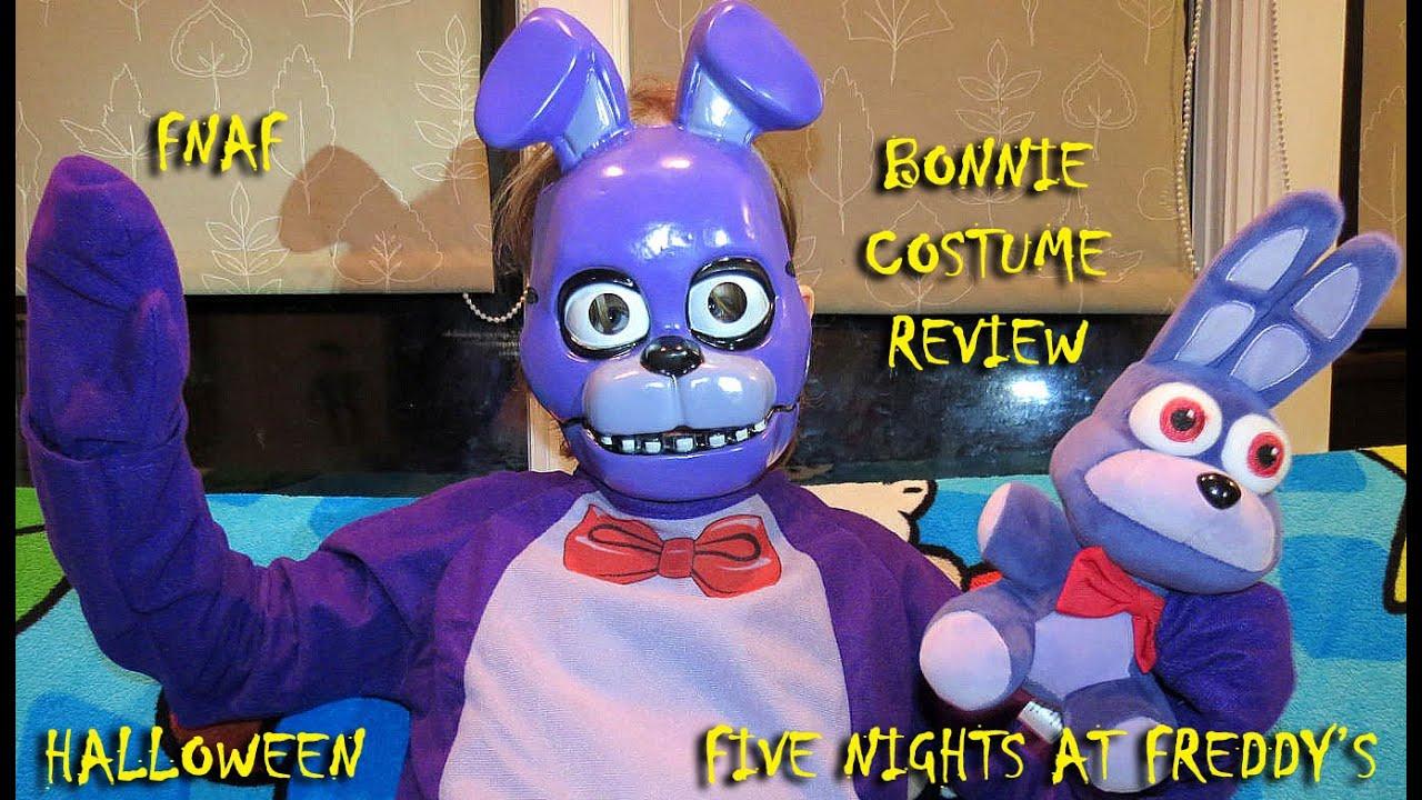Fnaf bonnie costume for sale - Bonnie Child Costume Unboxing Video Review Halloween Fnaf Five Bonnie Child Costume Unboxing Video Review Halloween Fnaf Five