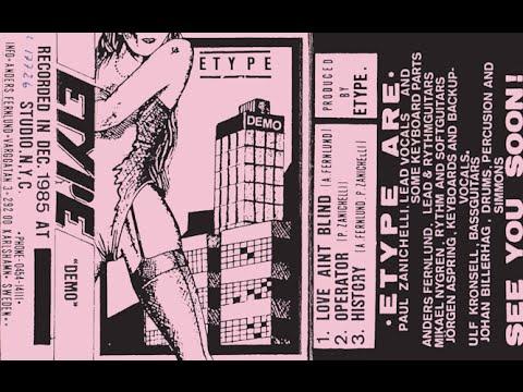 E-type (Swe) - History