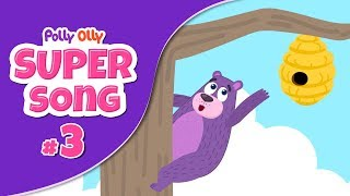 Polly olly up up up | #PollyOlly | #SuperSong 3 | #S01E03