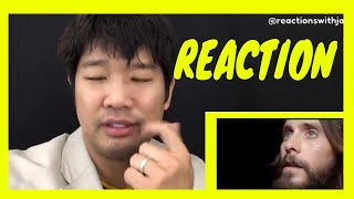 Thirty Seconds To Mars - Rescue Me (Official Music Video) – Reaction