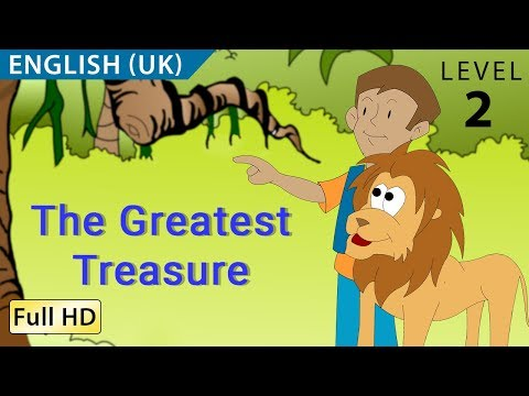 """The Greatest Treasure: Learn English (UK) with subtitles - Story for Children """"BookBox.com"""""""