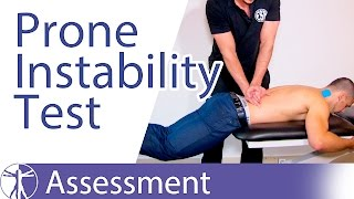 Prone Instability Test  | Lumbar Spine