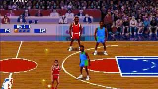 NBA Jam-(Genesis)- Bulls vs. Mavericks Part 1