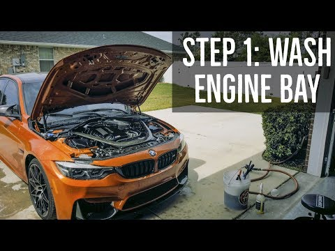 Step 1: How to Wash & Clean Your Engine Bay - BMW F80 M3