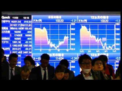 """El """"efecto Trump"""" empuja al Nikkei a cerrar en positivo tras un año turbulento"""