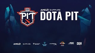 OG vs Hellraisers game 1 AMD SAPPHIRE DOTA PIT Online (Group stage)
