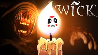 THIS GAME IS LIKE LITTLE NIGHTMARES!!! 🕯🕯🕯 WICK