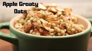 Apple Groaty Oats // Gluten Free Breakfast Recipes // Oat Groat Recipes