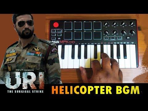 URI Mass Helicopter BGM| Cover By Raj Bharath | Shashwat Sachdev | Vicky Kaushal & Yami Gautam