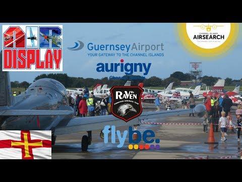 Guernsey Air Display Static Aircraft 1080p HD