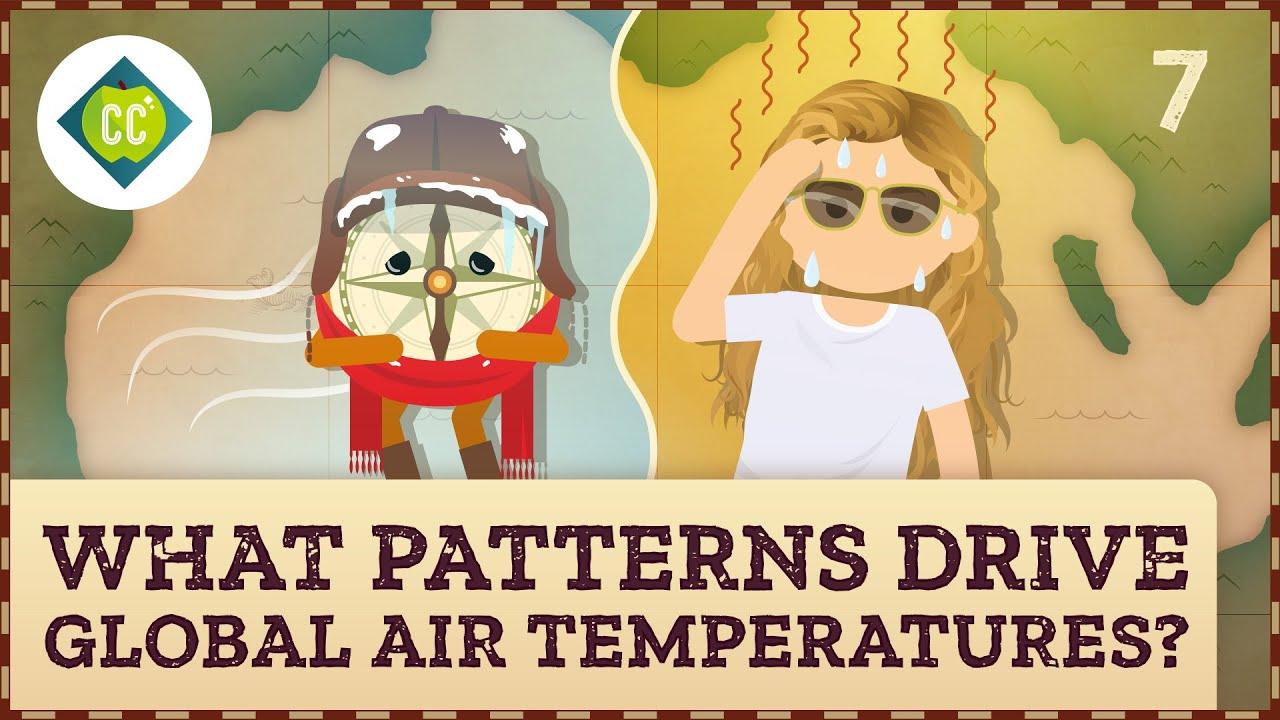 What patterns drive global air temperatures? Thumbnail