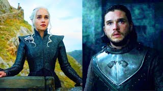 GAME OF THRONES S07E03 : Jon Snow rencontre Khalee...