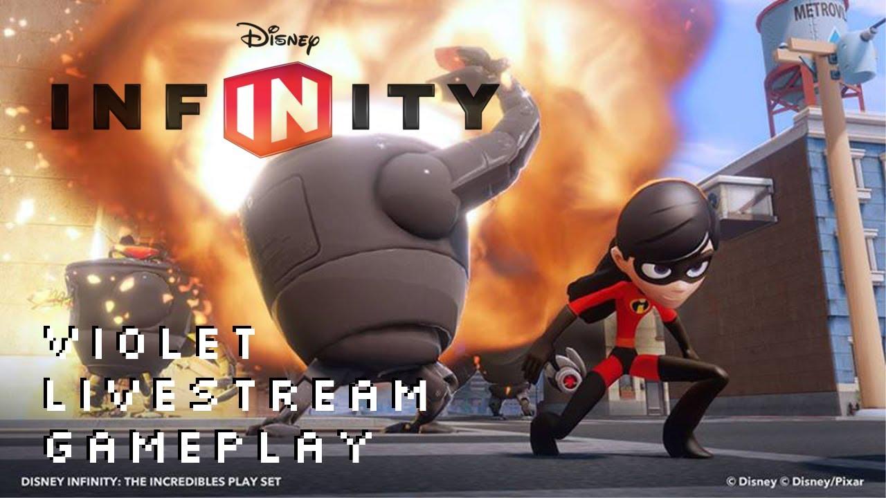 Disney Infinity Violet Incredibles Play Set Pack ...