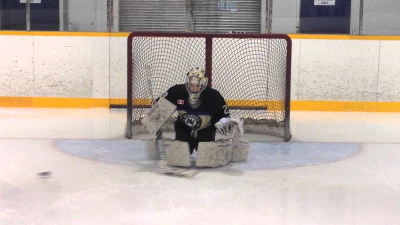 Nhl Hockey Goalie Drills Ryan Ludzik Goalie Training Drills With