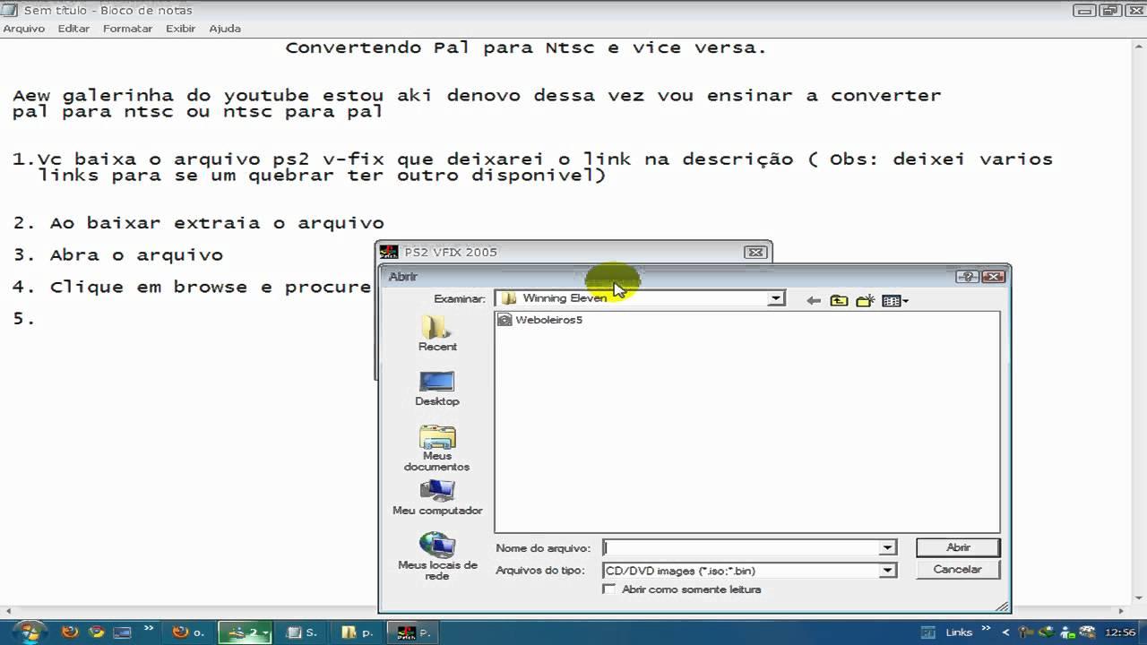 CONVERTER PARA PS2 PROGRAMA PAL BAIXAR NTSC PARA