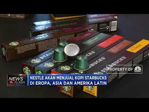 Nestle Akan Jual Kopi Starbucks Di Eropa, Asia Dan Amerika Latin