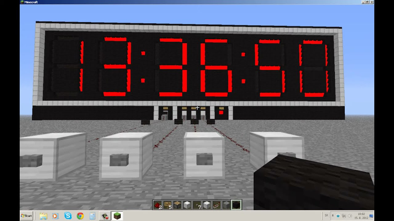 minecraft how to make a redstone timer