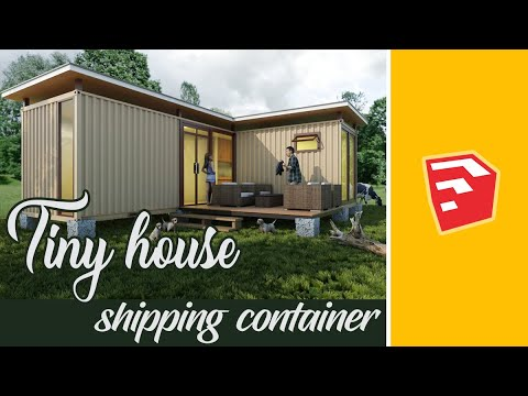 Tiny house : shipping container