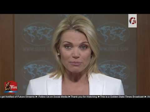 WATCH: US State Department URGENT Press Briefing Regarding North Korea threat Kim Jong Un & GUAM