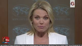 WATCH: US State Department URGENT Press Briefing Regarding North Korea threat Kim Jong Un & GUAM