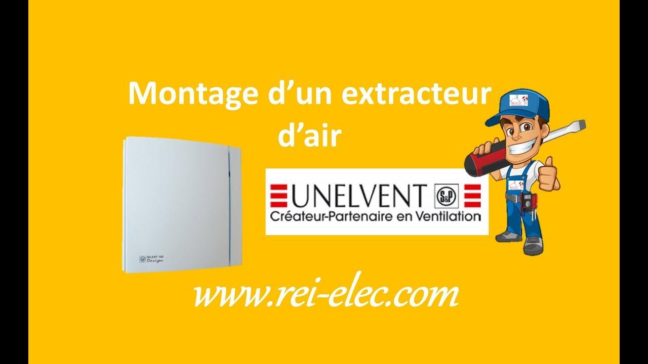 Extracteur D Air Unelvent Cheap Rei Dair Unelvent Silencieux With