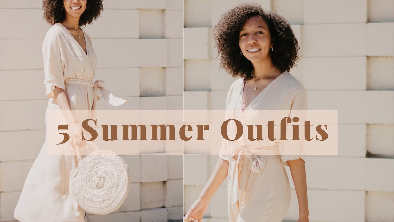 SUMMER CAPSULE WARDROBE STYLING | 5 Outfits for Summer 3