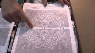 Quilt Kit Crystal Prism 90in x 90in video