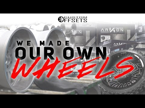 We Made Our Own Wheels!