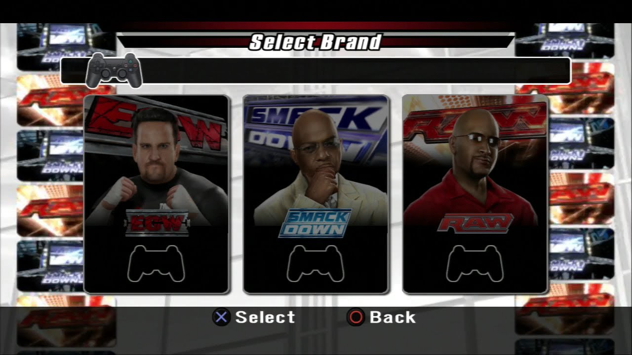 Smackdown vs Raw 2008 General Manager Mode - Episode 1 ...