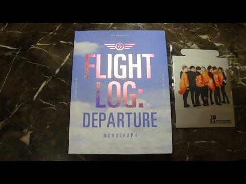 Unboxing GOT7 갓세븐 Monograph Flight Log: Departure (Photobook + DVD)