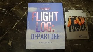 Unboxing GOT7 갓세븐 Monograph Flight Log: Departure (Photobook + DVD)