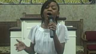 """MERCY SAID NO"" by CeCe Winans (Cover) by 10 year old amazing child singer ""Elizabeth Mathis"""