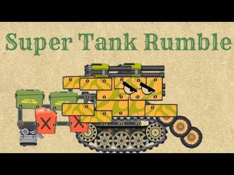 Game xe Tăng – Bạn xe tăng quái vật hài hước chiến đấu | Super Tank Rumble