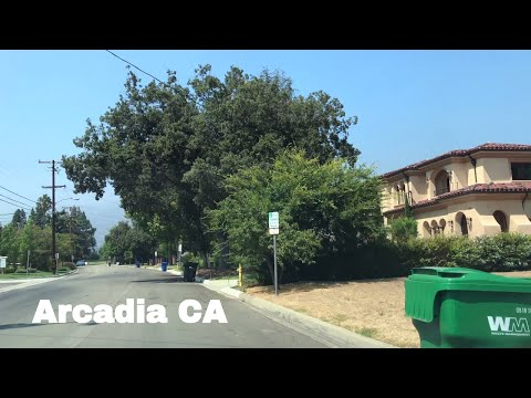 🔴  Arcadia Realtor Driving Tour 4K