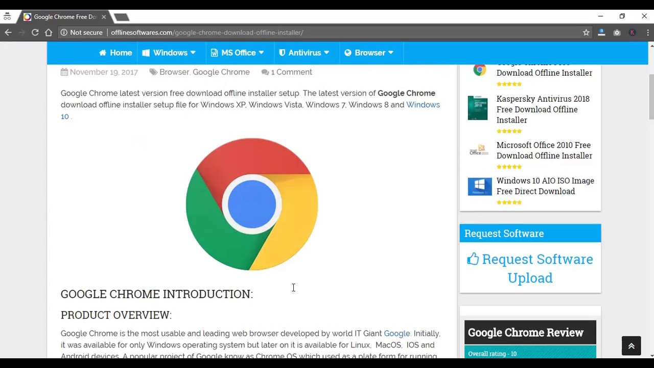 Latest google chrome free download and install system zone.