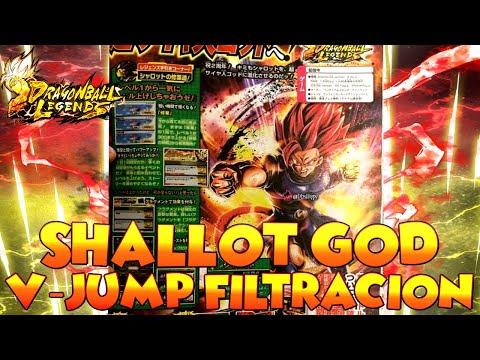 DRAGON BALL LEGENDS SHALLOT GOD V-JUMP FILTRACION